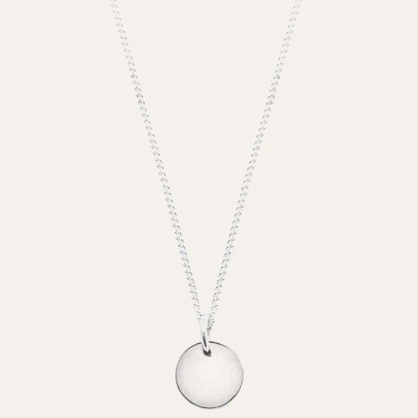 Lobibeads-ketting-met-klein-muntje-zilver