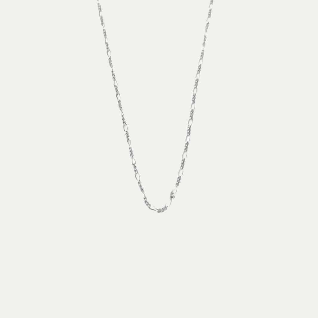 Super Minimalistische ketting zilver choker | Sieraden Lobibeads @JZ55