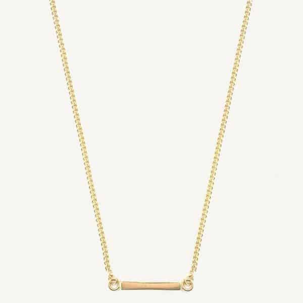 Lobibeads-ketting-met-simpel-staafje-goud
