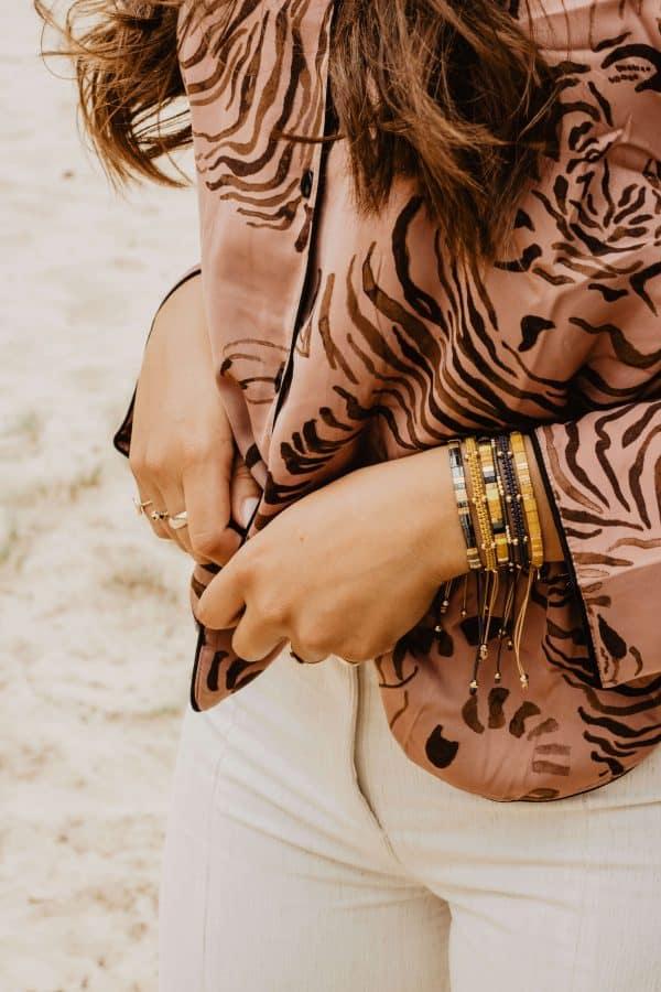 Subtiel gouden armbandje