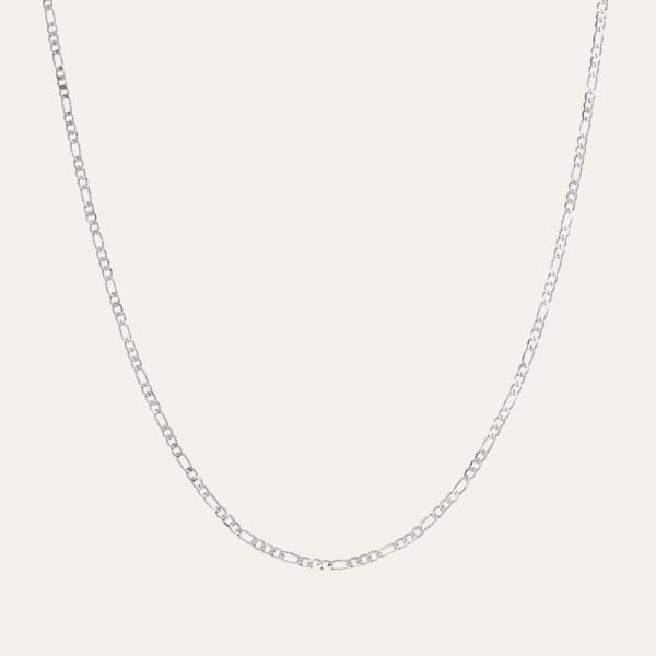 Basis ketting zonder hanger zilver