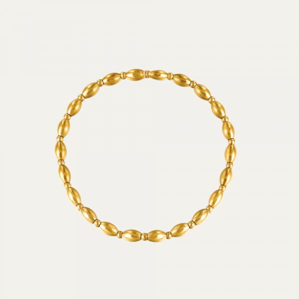 Fijn goud armbandje