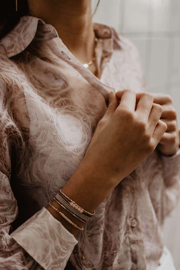 Armband rose goud dames