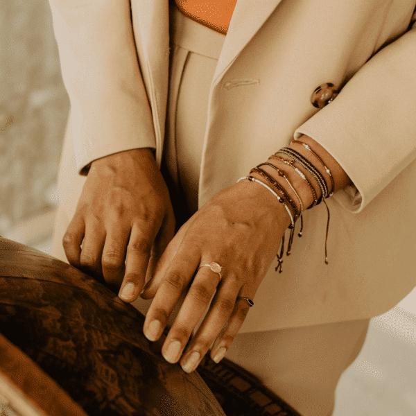 armbandjes van touw