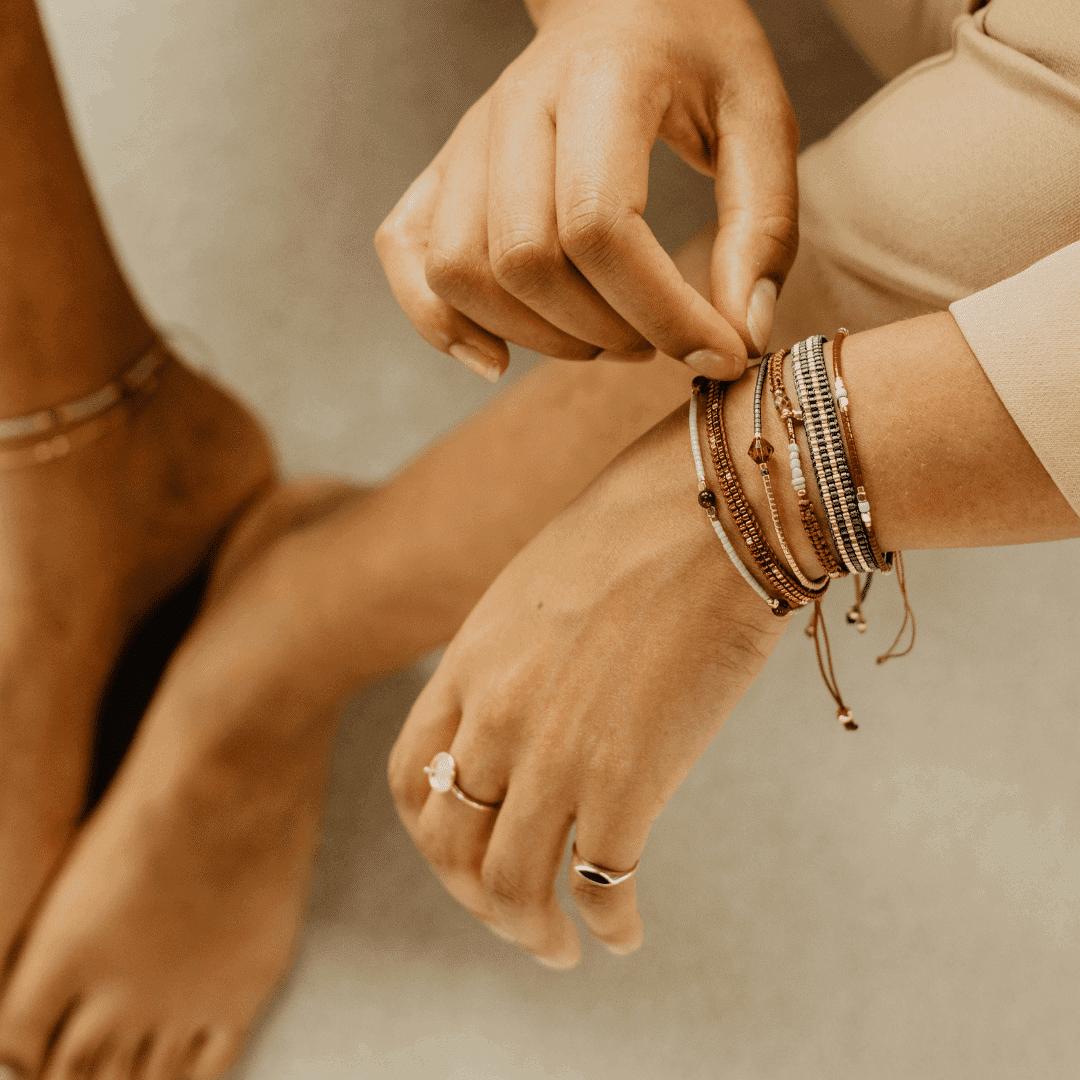 gevlochten armbandjes online kopen