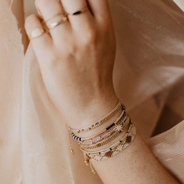 armband met bedels