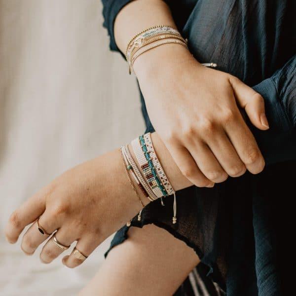 gevlochten armbandjes