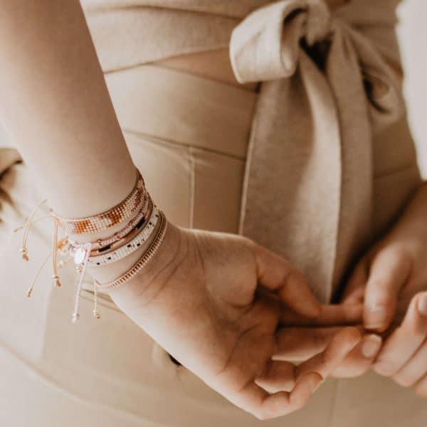rose goud armbandje