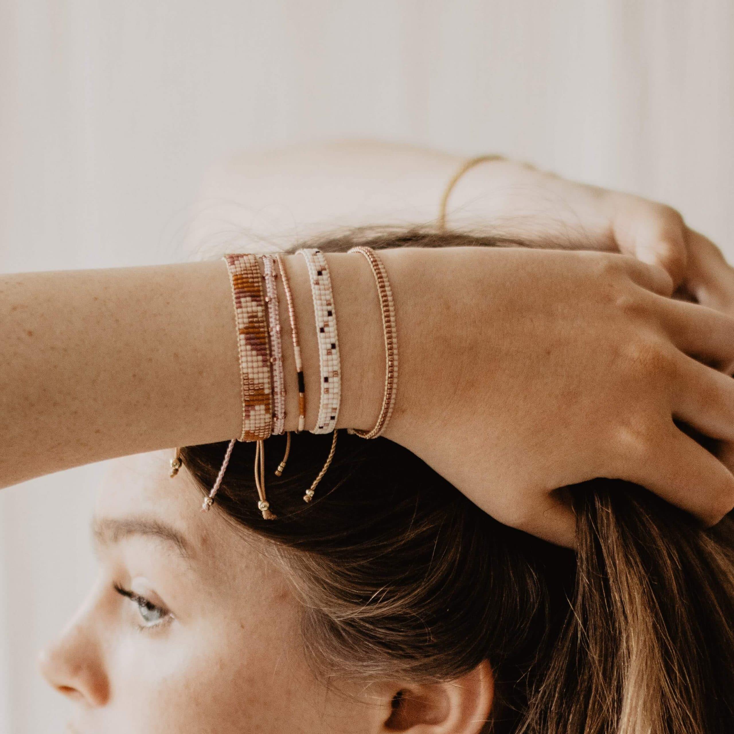 rose gouden armband