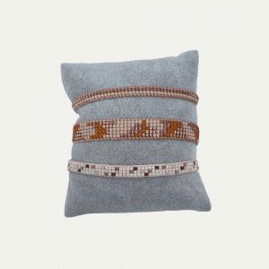 Rosegouden armbandenset