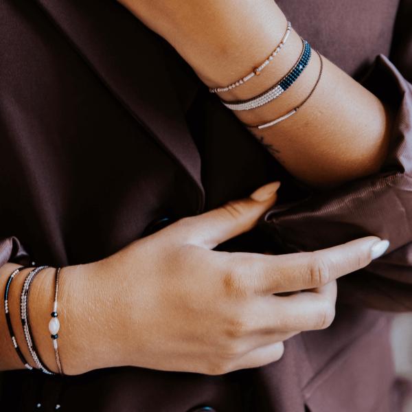 armband dames zilver