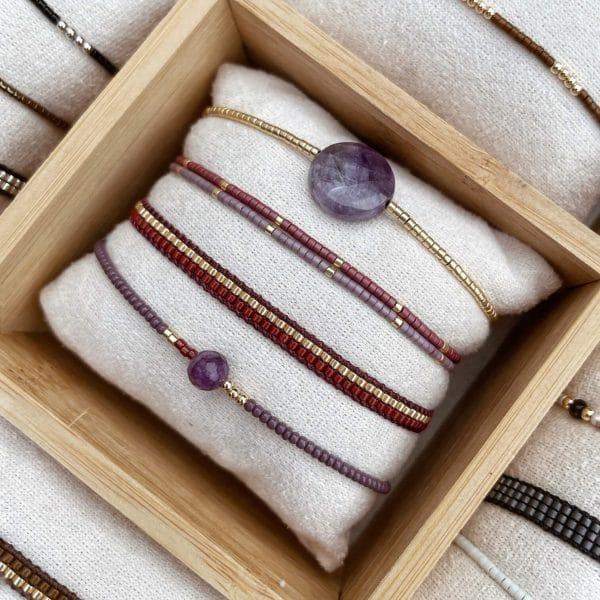 armband met steen